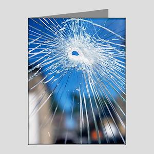Broken glass Note Cards (Pk of 20)