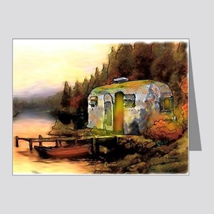 Airstream camping Note Cards (Pk of 20)