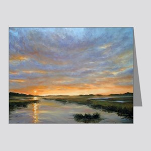 Chincoteague Marsh Sunrise Note Cards