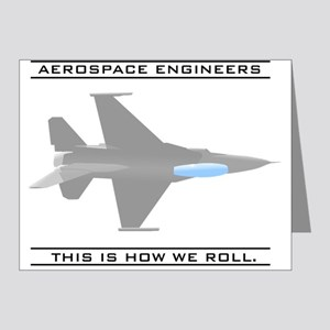 Aero Engineers: How We Roll Note Cards (Pk of 20)