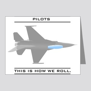 Pilots: How We Roll Note Cards (Pk of 20)