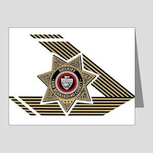 Sheriff San Bernardino Note Cards (Pk of 20)