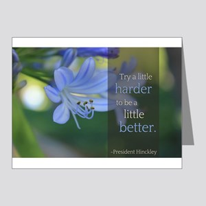 LDS Quotes- Try a little harder to be a little bet