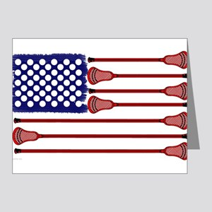 Lacrosse Americas Game Note Cards