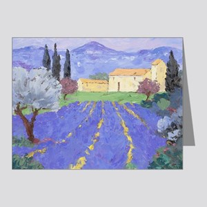 Lavender Farm Note Cards (Pk of 20)