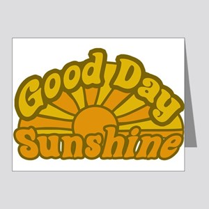 Good Day Sunshine Note Cards (Pk of 20)