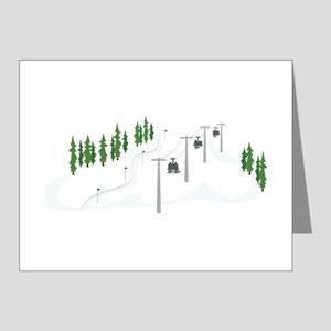 Ski Lift Note Cards