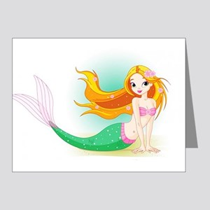 Beautiful Mermaid Note Cards