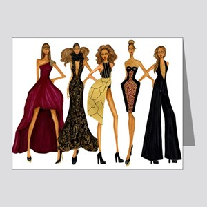 Fashionable Diva Note Cards (Pk of 20)
