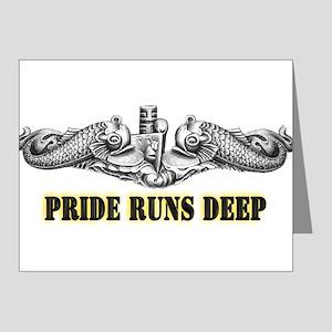 Pride Runs Deep! SSN-786 Note Cards (Pk of 20)