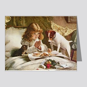 Suspense by Charles Burton Barber Note Cards