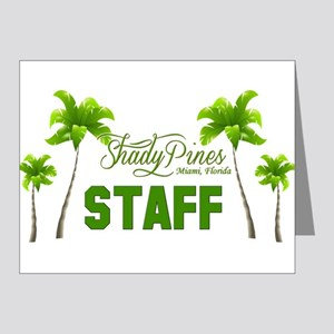 Shady Pines Staff Note Cards