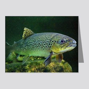 BROWN TROUT Note Cards