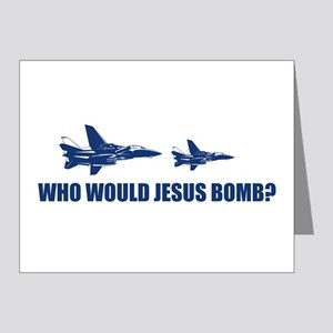 Who would Jesus bomb? - Note Cards (Pk of 20)