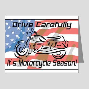 Motorcycle Season Note Cards (Pk of 20)