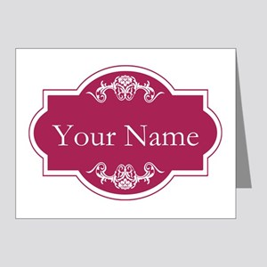 Add Your Name Note Cards