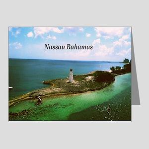 Nassau lighthouse Note Cards (Pk of 20)