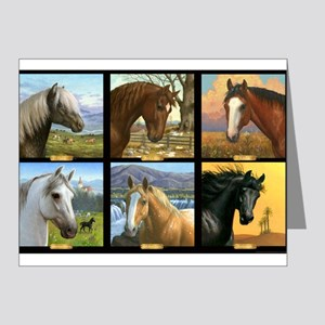 HORSE DIARIES POSTER Note Cards