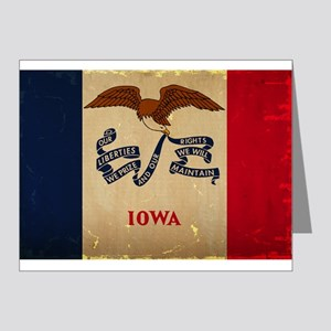 Iowa State Flag VINTAGE Note Cards
