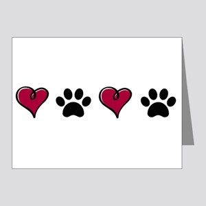 Love Pets Note Cards