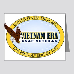 Vietnam Era Vet USAF Note Cards (Pk of 20)