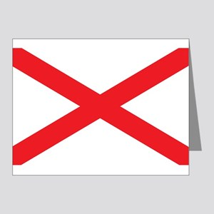 ALABAMA-FLAG Note Cards (Pk of 20)