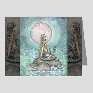 The Pastel Sea Fantasy Art Note Cards