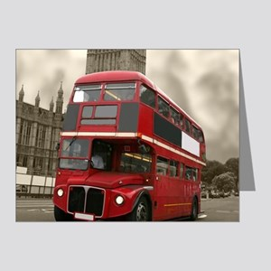 DOUBLE DECKER Note Cards (Pk of 20)