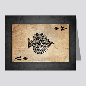 Ace Of Spades Note Cards