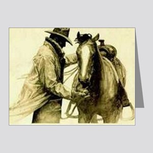 Saddle Up Note Cards (Pk of 20)