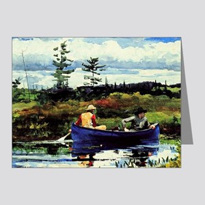 Winslow Homer - The Blue Boa Note Cards (Pk of 20)