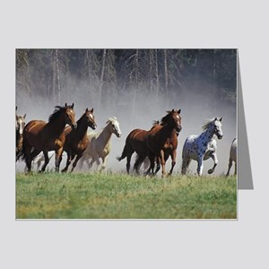 Galloping Horses Note Cards (Pk of 20)