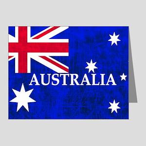AUSTRALIAN FLAG Note Cards