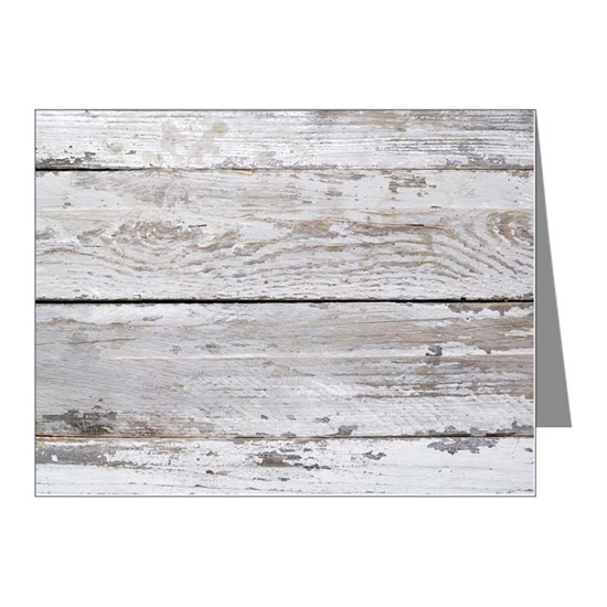 shabby chic white barn wood