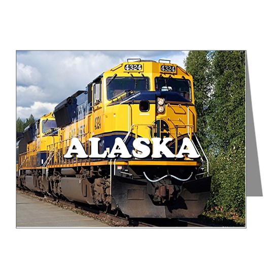 Alaska Railroad engine locomotive 2