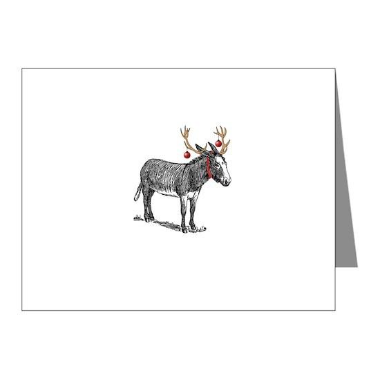 rucio christmas card Note Cards (Pk of 20) Rucio Christmas