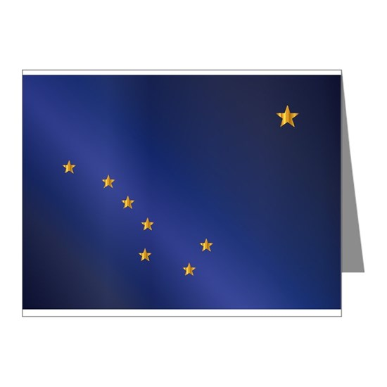 Flag of Alaska Gloss