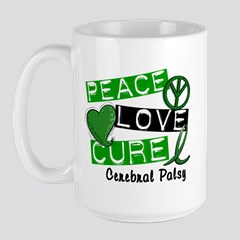 Peace Love Cure Cerebral Palsy L1 By