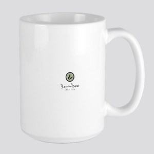 Bamboo Leaf Tea logo Large Mug