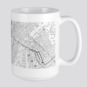 Vintage Map of New York City (1911) Mugs