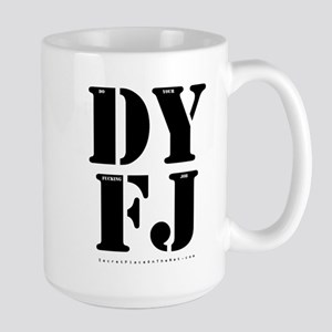 dyfj2 15 oz Ceramic Large Mug