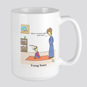 Young Sartre Mugs