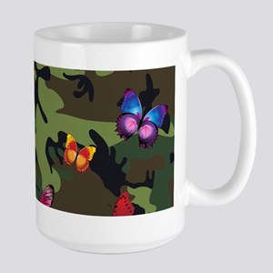 butterfly camouflage Mugs