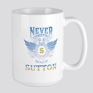 never underestimate the power of sutton 15 oz Cera