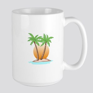 PALM TREES AND SUN Mugs