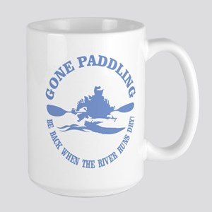 Gone Paddling 3 Mugs