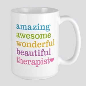 Awesome Therapist Large Mug