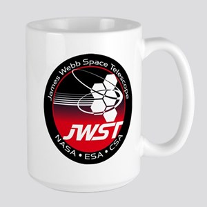 JSWT NASA Program Logo Large Mug