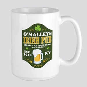 Irish Pub Personalized Large Mug