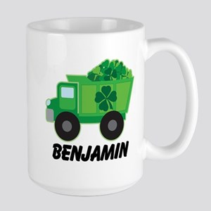 Personalized St Patricks Day Irish Truck 15 oz Cer